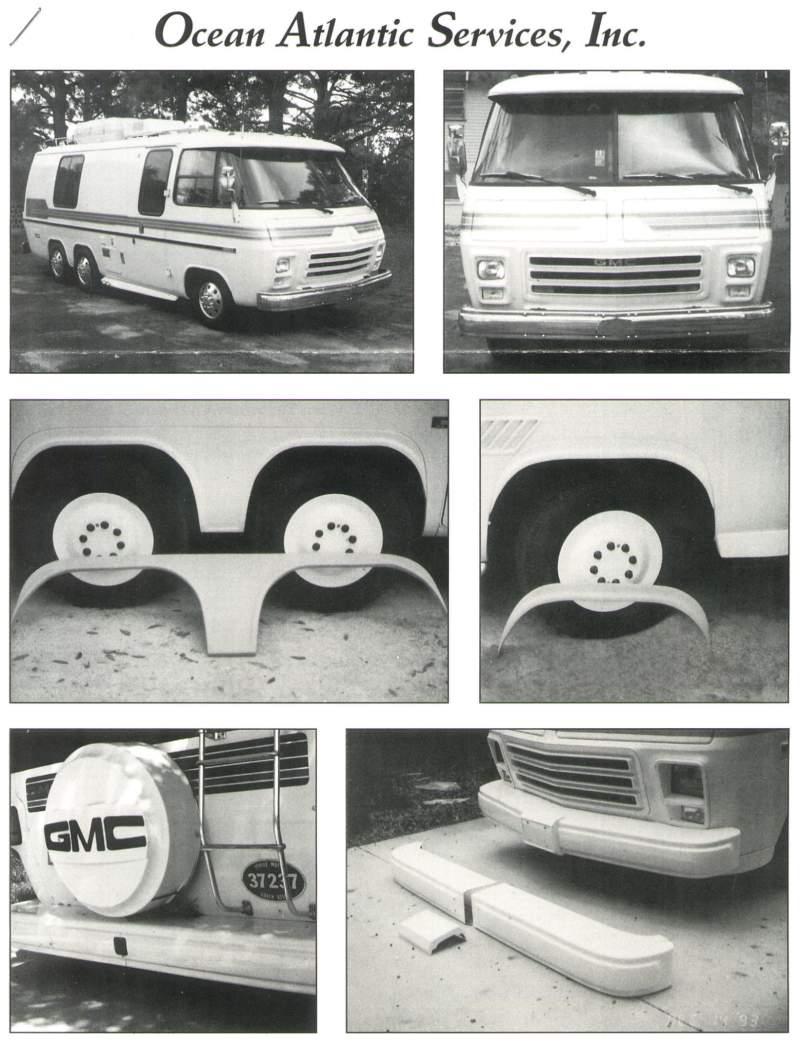 OASI Fiberglass GMC Parts