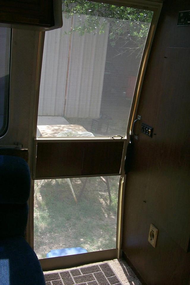 The Alex Birch Screen Door for the GMC Motorhome