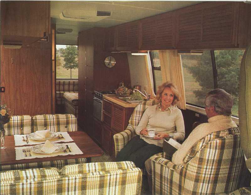 1977 Gmc Motorhome Sales Brochure